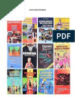 Catalogo de Libros Deportivos