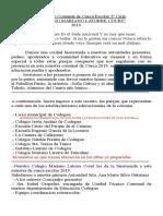 Libreto Encuentro de Cueca 2019[1961]