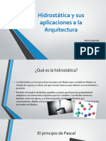 Hidrostática y sus aplicaciones a la Arquitectura.pptx