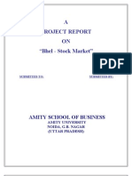 Bhel- Stock Market