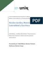 Actividad 4 Analisis Del Articulo Neuro Educa