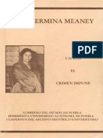 GUILLERMINA MEANEY - CANOA, EL CRIMEN IMPUNE