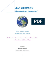 LA GRAN AFIRMACIÓN. en PDF, Para Descargar y Difundir.