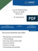 MCH 112 Research Skills