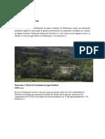 Diagnóstico Del Sistema de Tratamiento de Aguas Residuales PTAR Subachoque