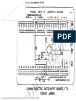 Sanwa 305Z TR Schematic Diagram