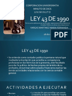 Ley 43 de 1990 Diapositivas