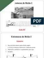 Aula 03 - FLEXAO SIMPLES. SECCOES RECTANGULARES.pdf
