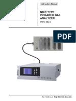 ZKJ NDIR Type Infrared Gas Analyzer