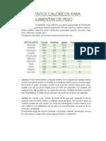 ALIMENTOS CALÓRICOS PARA AUMENTAR DE PESO.pdf