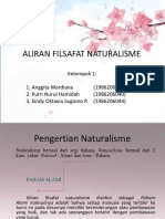 ALIRAN FILSAFAT NATURALISME