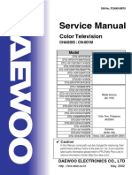 Daewoo Chassis CN-001M Service Manual