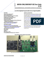 AD8556-EVALZ_8556-Evaluation Board for Zero-Drift, Digitally Programmable Sensor Signal Amplifier