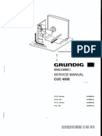 Service Manual - Grundig Tv - Chassis Cuc4500
