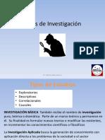 1a. Tipos de Investigacion