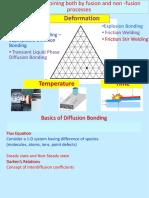1E and 1F -Diffusion Bonding and FSW