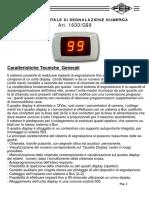 1600 G99 Istruzioni e Schemi FEB Elettrica