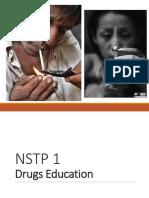 NSTP 1 Drugs Education