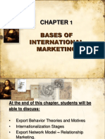 Chapter1 Bases of International Marketing