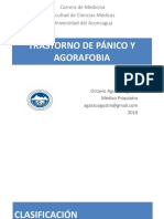 3. Trastorno de Pánico y Agorafobia