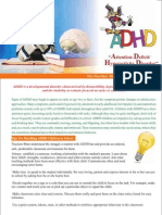 Tips For Teachers to deal with ADHD students