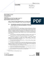 Resolución Consejo DDHH de la ONU