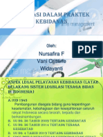 Ppt Aspek Legal Dalam Pelayanan Kebidanan Kel 3