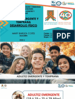 Adultez Emergente y Temprano - DeSARROLLO FÍSICO 2019-1