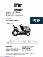 917276601 Operators Manual