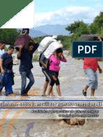 Informe Movilidad Humana Venezolana Julio 2019