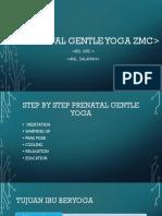Prenatal Gentle Yoga Zmc