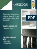 Corrosión de Acero de Concreto