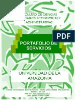 Portafolio-De-servicios Universidad de La Amazonía