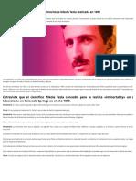 «Todo es la Luz» La fascinante entrevista a Nikola Tesla realizada en 1899 _ Código Oculto.pdf
