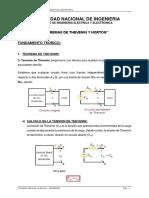 Teorema de Thevenin y Norton