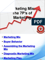 5market 7Ps With Marketing Mix