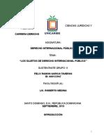 GARCIA-FELIX- Trabajo Final Derecho Internacional Publico II