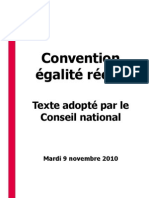 Convention Egalite Reelle Texte Adopte CN