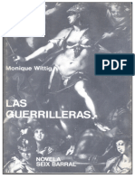 Monique Wittig - Las Guerrilleras.epub
