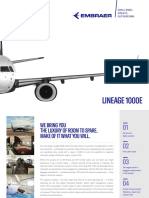 Embraer Lineage1000E Brochure