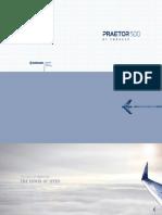 Embraer Praetor 500 Folio
