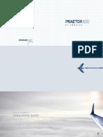 Embraer Praetor 600 Folio