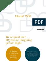 Bombardier Global 7500 Brochures