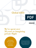 Bombardier Global 6500 Brochures