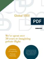 Bombardier Global 5500 Brochures