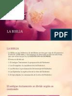 Exposicion Religion 2019 La Biblia