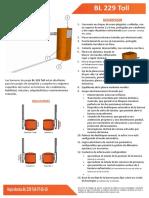 Manual Bl229toll Ft Es 10
