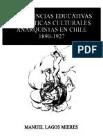 Experiencias educativas y practicas culturales anarquistas en Chile 1890-1927.pdf