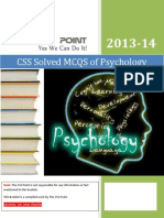 Solved MCQS of Psychology.pdf