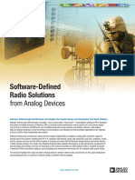 Software Defined Radio Solutions From ADI